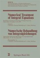 Numerical Treatment of Integral Equations / Numerische Behandlung von Integralgleichungen: Workshop on Numerical Treatment of Inte