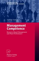 Management Competence: Resource-Based Management and Plant Performance