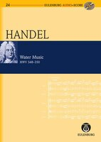 Water Music HWV 348-350: Eulenburg Audio+Score Series
