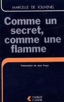 9787630000112 - Marcelle de Jouvenel: Comme un secret, comme une flamme - 书