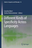Different Kinds of Specificity Across Languages