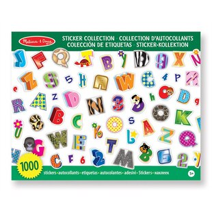 Sticker Collection - Alphabet & Numbers