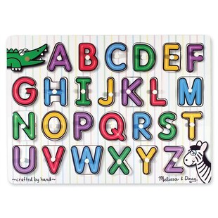 Melissa & Doug ABC Small Peg Puzzle