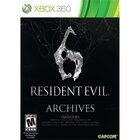 Resident Evil 6 Archives XB360