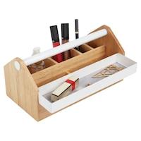 Umbra Toto Storage Box - Birch Wood & White by UMBRA