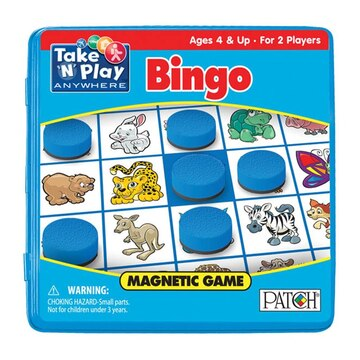 Bingo Take 'N' Play Magnetic Game