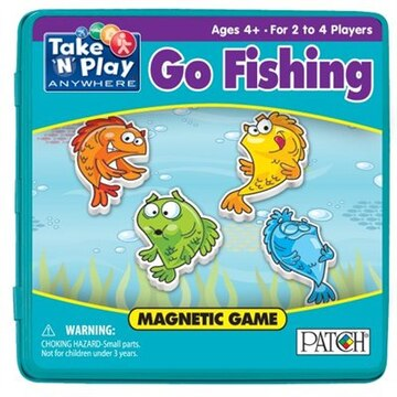 Go Fish Take 'N' Play Magnetic Game