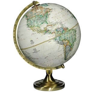 "12"" Antique Globe"