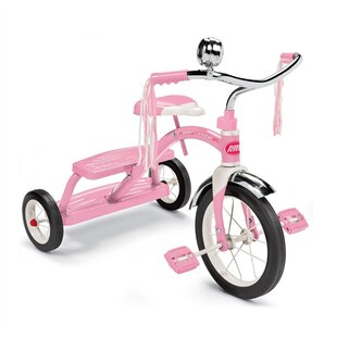Girls Classic Pink Dual Deck Tricycle