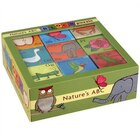 Mudpuppy Nature's ABC Block Puzzle
