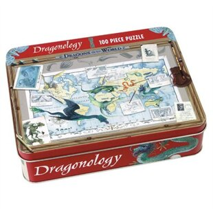 Mudpuppy Dragonology 100 Piece Puzzle in a Tin