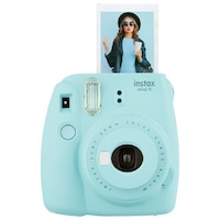 Fujifilm Instax Mini 9 Camera - Ice Blue by Fuji Film