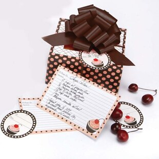 Cherry Cupcake Treat Box Set of 6
