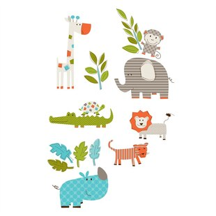 Small Wall Art Kits-Let's Go on Safari
