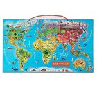 Magnetic World Puzzle English