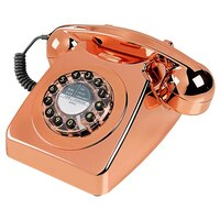 Retro Phone - Rose Gold by Wild & Wolf