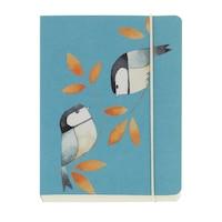 GO Stationery Coal Birds A6 Chunky Notebook by Go Stationery
