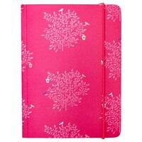 GO Stationery Cerise Trees A6 Chunky Notebook by Go Stationery