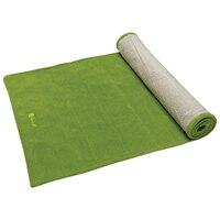 Gaiam  Grippy Yoga Towel-apple Green By Gaiam