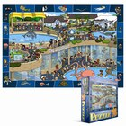 100 Piece Spot & Find Puzzle - Crazy Aquarium