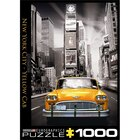 New York City B & W Yellow Cab 1000 Piece Puzzle