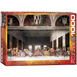 Da Vinci - Last Supper 1000 piece Puzzle
