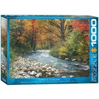1000 Piece Puzzle - Forest Stream
