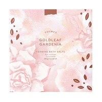Thymes Goldleaf Gardenia Foaming Bath Salts by Thymes