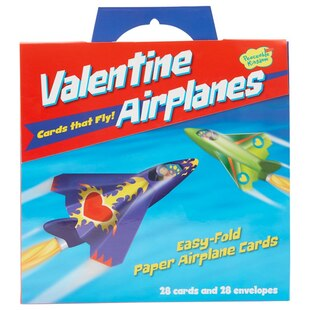 Kids Valentines Pack with Airplanes