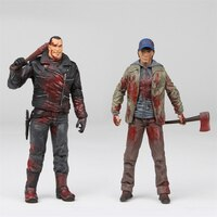Walking Dead: Negan & Glenn Color Bloody - 2-Pack Action Figures by No Brand