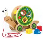 Hape Walk-Along Snail