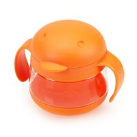 Ubbi Tweat Snack Container - Orange  by Ubbi