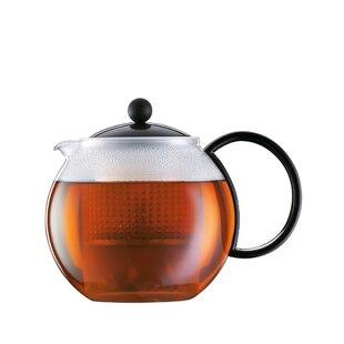 Assam 34-oz. Classic Tea Press – Black