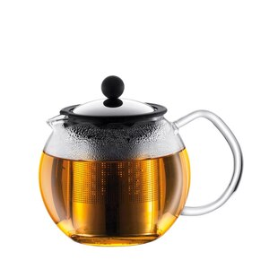 Assam 34-oz. Classic Tea Press with Stainless Steel Filter – Shiny