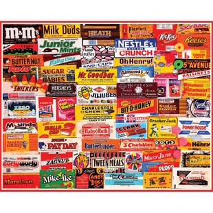 1000 Piece Puzzle - Candy Wrappers