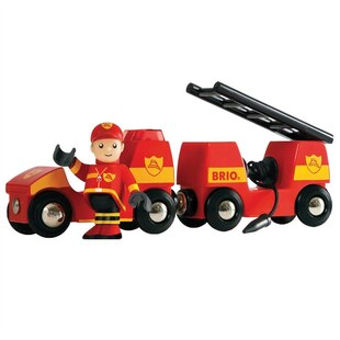 BRIO Fire Engine