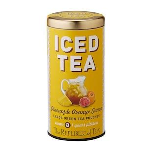 Iced Tea – Pineapple Orange Guava Green Tea