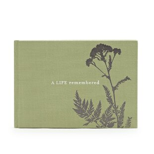 A Life Remembered - Funeral Guest Book
