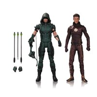 DC TV: Arrow & Flash - 2-Pack Action Figures by No Brand