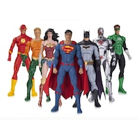 DC Rebirth: Justice League - 7-Pack Action Figures by No Brand