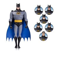 Batman: The Animated Series Batman Expressions Pack - Action Figure by No Brand