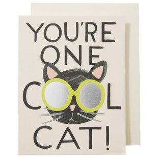 COOL CAT EVERYDAY GREETING CARD