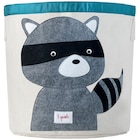 Storage Bin - Grey Raccoon