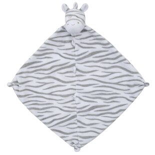 Dark Zebra Security Blankie