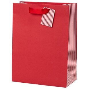 Small Kraft Gift Bag – Red