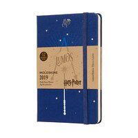 12M LIMITED EDITION HARRY POTTER WEEKLY NOTEBOOK POCKET BLUE by Moleskine