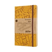 12M LIMITED EDITION HARRY POTTER WEEKLY NOTEBOOK LARGE BEIGE by Moleskine