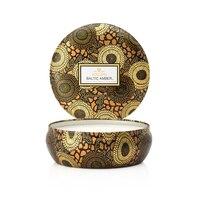 Voluspa(r) 3-Wick Decorative Tin Candle - Baltic Amber by Voluspa