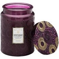 Voluspa(r) Large Glass Jar Candle - Santiago Huckleberry by Voluspa