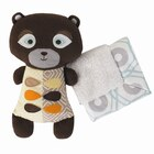 Bixby Bear Softie with Security Blanket